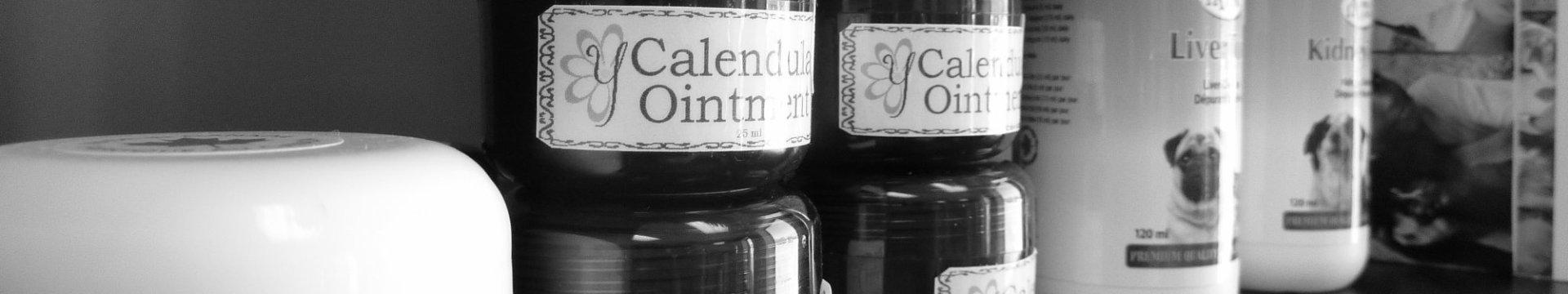 Holistic products on shelf